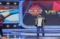 معروف اینکر وسیم بادامی اور کامیڈین حسن کے درمیان لائیو شو پر تلخ کلامی