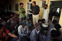 سمندری حدود کی خلاف ورزی ، 20 بھارتی ماہی گیروں کو گرفتار،4کشتیاں قبضے ..