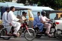 کراچی میں 4 روز کیلئے موٹر سائیکل کے ڈبل سواری پر پابندی عائد