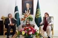 وزیر اعظم سے نئے نامزد گورنر اقبال ظفر جھگڑا کی ملاقات،فاٹا مسائل پر ..