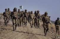 پاک فوج نے دہشت گردی کے انفراسٹرکچر کو ختم کرنے کیلئے اقدامات تیز کر ..