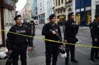 ترکی کے شہر استنبول میں دھماکے سے 5افراد ہلاک جبکہ20 زخمی ہوگئے