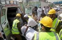 سعودی عرب ، مسافر بس کے حادثے میں 19زائرین جاں بحق ، 22زخمی ،ہلاکتوں میں ..