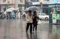 جمعرات سے ہفتے تک فاٹا، خیبرپختونخواہ اور کشمیر میں بارشوں کا امکان