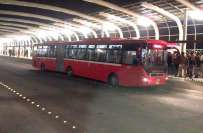سکیورٹی خدشات کے پیش نظر لاہور میں میٹرو بس کا روٹ محدود ، راولپنڈی ..