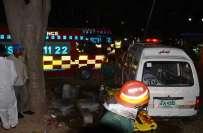 سانحہ لاہور کا ایک اور زخمی جناح ہسپتال میں دم توڑ گیا ہے،جس سے ایک ..