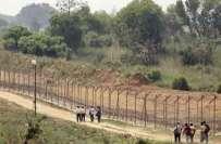 پاکستان رینجرز نے سامبا سیکٹر میں بھارتی فوجی چوکیوں پر فائرنگ کی' ..