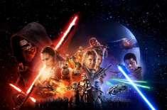 """سائنس فکشن پر مبنی نئی ہالی ووڈ فلم """"سٹار وارز : دی فورس اویکنز"""" امریکا .."""