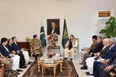 اعلی سول اور ملٹری قیادت کا پٹھان کوٹ حملے کے حوالے سے بھارتی حکومت ..