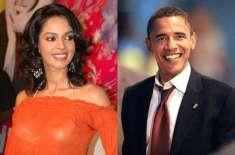 ملیکہ شراوت کی امریکی صدر باراک اوباما سے ملاقات