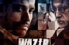 """بالی وڈ کی نئی فلم """"وزیر"""" نے نمائش کے پہلے ہفتے میں 21 کروڑ روپے کما .."""