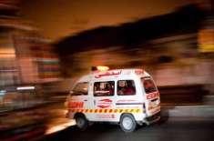 کراچی کے علاقے سپر ہائے وے پر رینجرز کا دہشت گردوں سے مقابلہ، 2 دھماکوں ..