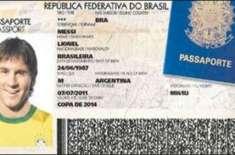 یو اے ای پولیس آفیسر کو فٹبالر میسی کے پاسپورٹ کی ویڈیو بنانا مہنگا ..