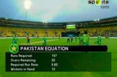 تیسرا ٹی ٹونٹی : نیوزی لینڈ نے پاکستان کو جیت کے لیے 197رنز کا ہدف دیدیا