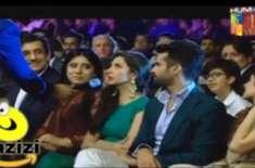 ہم ٹی وی ایوارڈز کے دوران ماہرہ خان اور واسع چوہدری میں تلخ جملوں کا ..