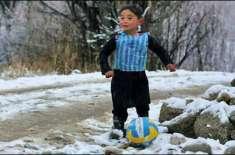 معروف فٹبالر میسی کے پانچ سالہ افغان مداح نے سوشل میڈیا پر دھوم مچا ..