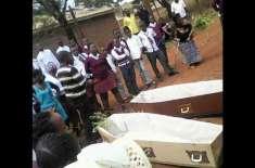 طلباء اور والدین نے سست اساتذہ کو زندہ دفن کرنے کا بندوبست کر لیا