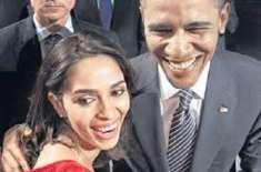 ملیکہ شراوت کی بارک اوباماکے ساتھ سیلفی سوشل میڈیا پر مقبول