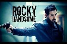 جان ابراہم کی نئی فلم''راکی ہینڈسم' نیا پوسٹر جاری'فلم 25مارچ کو ریلیزکی ..