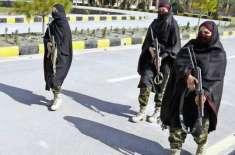 خیبرپختونخواہ پولیس کی خواتین کمانڈوز کی تصاویر نے سوشل میڈیا پر دھوم ..