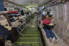 اوریگون شخص نے ایک ریٹائرڈ طیارے میں پر سکون گھر بنا لیا