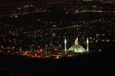 مئی اور جون کے ماہ میں وفاقی دارالحکومت اسلام آباد اور راولپنڈی میں ..
