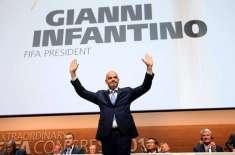 سوئٹزرلینڈ کے گیانی انفنٹینو فیفا کے نئے صدر منتخب