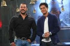 شاہ رخ خان اور سلمان خان کے درمیان سرد جنگ کا آغاز