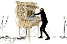 ماربل سے بنی حیرت انگیز  میوزک مشین