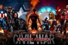 سپر ہیرو ایکشن فلم'کیپٹن امریکا:سول وار'کا پہلہ ٹریلر جاری