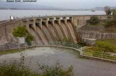 پانی کی سطح خطرناک حد پر، راول ڈیم کے اسپل ویزکھول دیے گئے