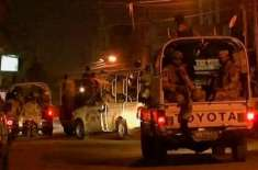 کراچی کے علاقے منگھوپیر میں رینجرز اور دہشت گردوں کا مقابلہ، 4 دہشت ..
