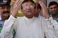 سابق صدر پرویز مشرف کی بیرون ملک روانگی کی تیاریاں مکمل