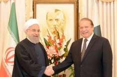 پاکستان اور ایران کا توانائی اور تجارت سمیت مختلف شعبوں میں تعاون بڑھانے ..