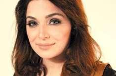 """فلم """"ہوٹل"""" کی کامیابی اداکارہ میرا نے منت مان لی،بھر پور تشہری مہم .."""