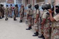 کراچی،رینجرز نے ضمنی الیکشن میں دہشتگردی کا منصوبہ ناکام بنادیا ، ..