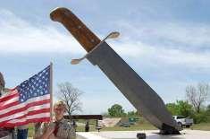 دنیا کا سب سے بڑا چاقو