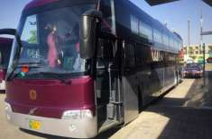 والوو نے پاکستان کی جدید ترین بس سروس کا آغاز کر دیا