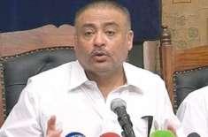 مراد سعید کی چیخیں بتارہی ہیں کہ وزیراعظم ہائوس میں گڑ بڑ ہے،عبدالقادر ..
