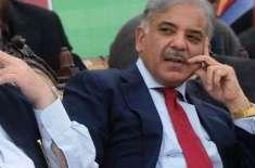 پوری قوم وزیراعظم کی آمد کی منتطر ہے: شہباز شریف