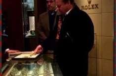 نوازشریف نے لندن سے 10کروڑروپے کی معروف برانڈکی گھڑی خریدلی
