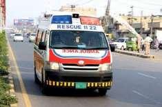 حافظ آباد، بس اور ٹرک میں تصادم ،40افراد زخمی