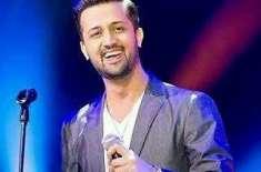 گلوکار عاطف اسلم 27مئی کو لاہور میں پرفارم کرینگے