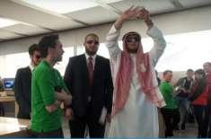 """لندن میں سعودی شہزادے کا روپ دھارنے والے پاکستانی """" پرینک سٹار """" کی .."""