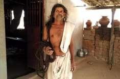 62 فٹ لمبے بالوں والا بھارتی  شخص گینیز بک آف ورلڈ ریکارڈ میں نام لکھوائے ..