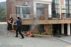 چینی لڑکی نے پابندیوں سے تنگ آ کر اپنے امیر شوہر کو چھوڑنے کی دھمکی ..