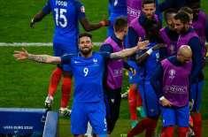 یوروکپ کا افتتاحی میچ، فرانس نے رومانیا کو 1 کے مقابلے میں 2 گول سے شکست ..