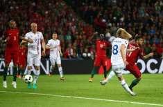 یوروکپ کا پہلا اپ سیٹ، پرتگال اور آئس لینڈ کے درمیان کھیلا گیا میچ 1۔1 ..