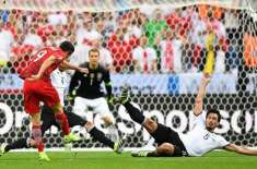یورو کپ، گروپ سی میں جرمنی اور پولینڈ کا میچ بنا کسی گول کے ختم