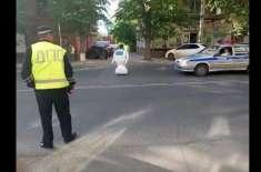 لیباٹری سے فرار ہونے والے روبوٹ نے روسی شہریوں اور پولیس کو پریشان ..